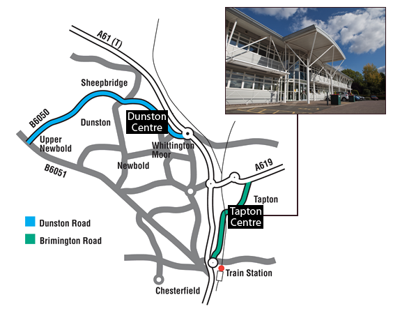 Tapton Innovation Centre Map